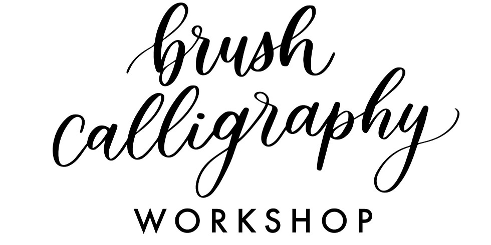 Brush Calligraphy with Megan Colley 1 Workshop