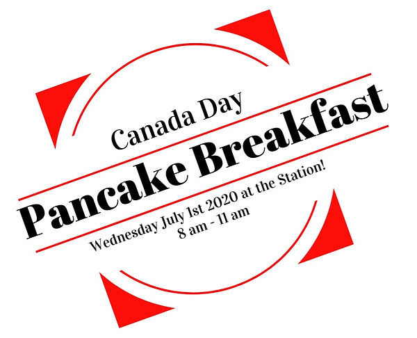 Canada Day pancake breakfast at the Stti