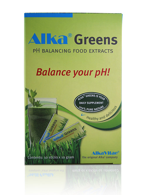 Alka Green - pH Balancing Food Extract x 10 Sticks