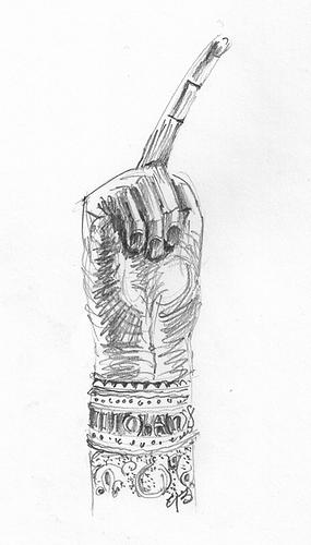 Finger reliquary of John the Baptist