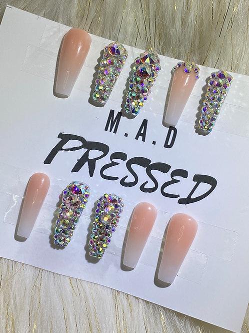 Custom Press On Acrylic Nails