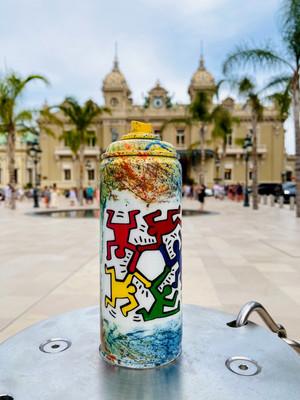 Keith Haring Spray