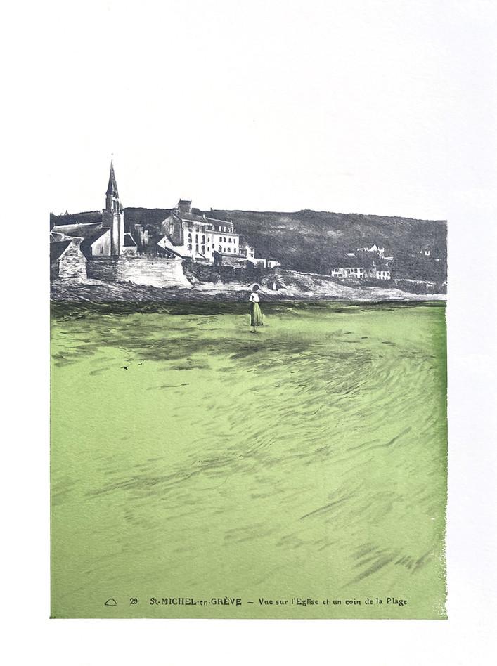 Marée verte - Saint-Michel-en-Grève