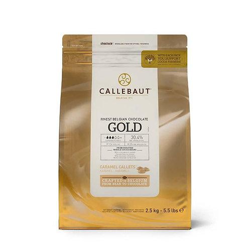 Callebaut Gold Chocolate Pistoles, 2.5kg