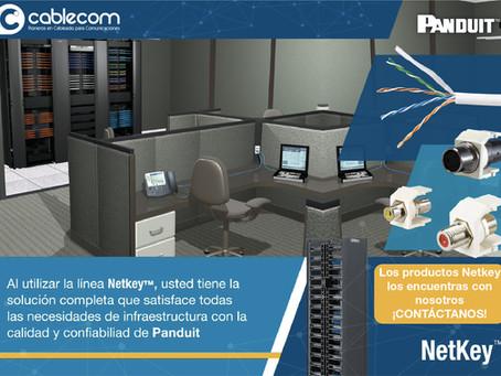 Netkey calidad y confiabilidad con el soporte de Panduit Corp