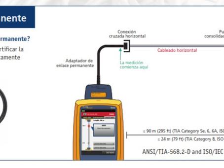 Métodos de pruebas de certificación para cableado par trenzado