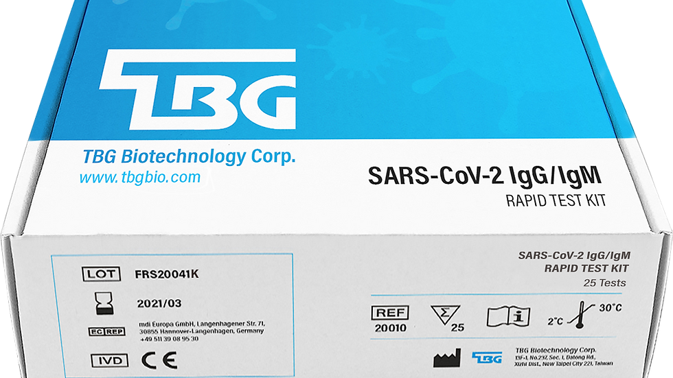 SARS-CoV-2 IgG / IgM Rapid Antibody Test Kit