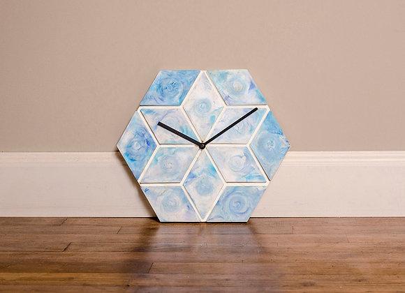 Horloge mosaïque