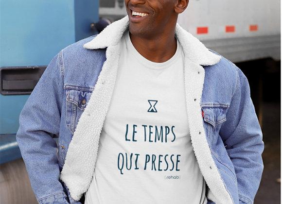 """T-shirt homme """"Le Temps Qui Presse"""""""