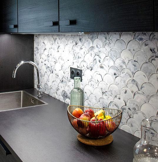 Crédence Cuisine Plastique Recyclé Eco-Responsable Durable Atelier Rehab