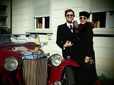 Steven Parry und Marion Weik aka Sugar &