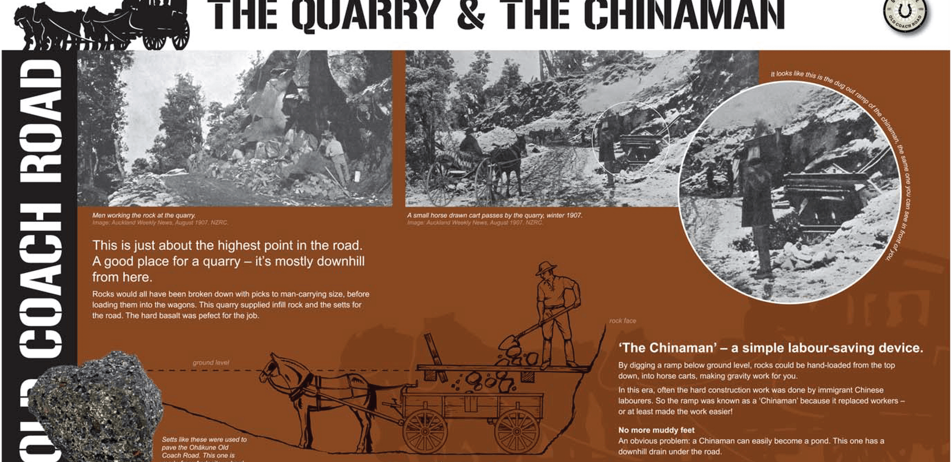 Visit Ohakune - The quarry and the china