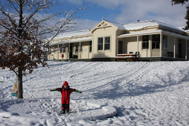 Snowplay at Station Lodge
