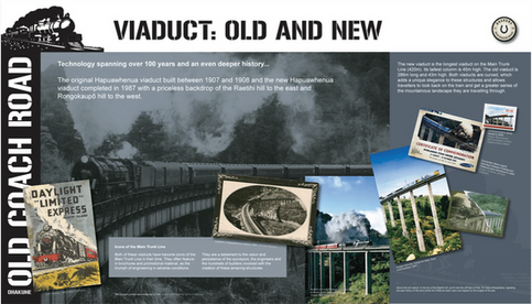 Visit Ohakune - Viaduct old and new-01.p