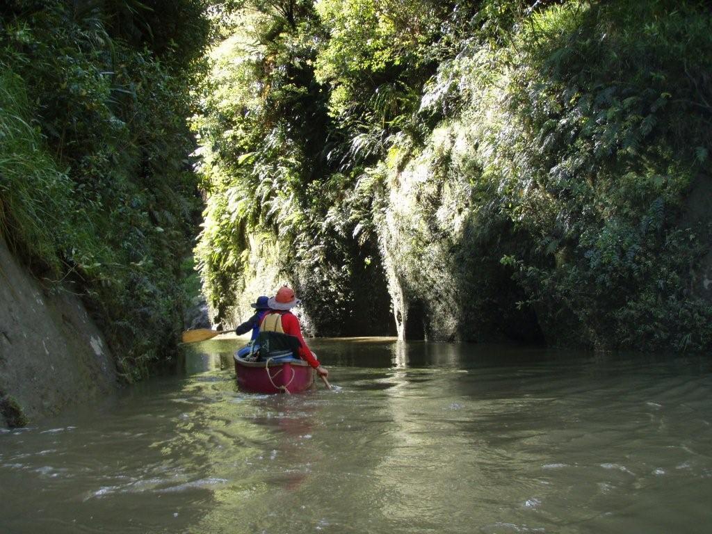 Whanganui River, the longest navigable river in New Zealand..JPG