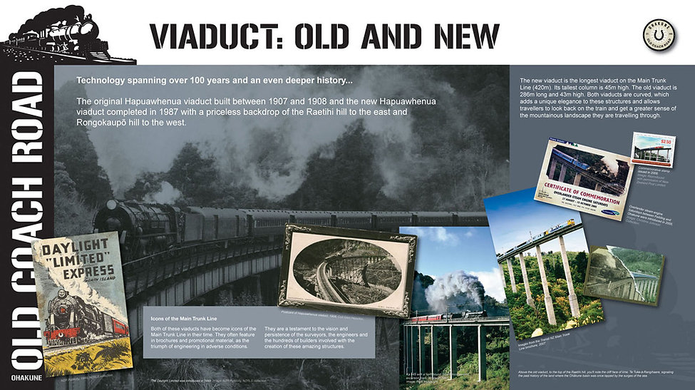 Visit Ohakune - viaduct-old-and-new-oocr