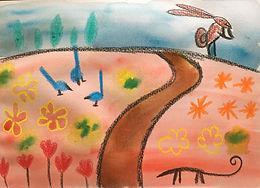 Summer Pastels + Watercolours