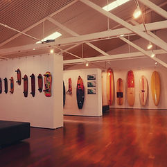 Surfboard exhibition the Cannery.jpg