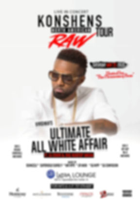 Virginia's Ultimate All White Affair with Konshens