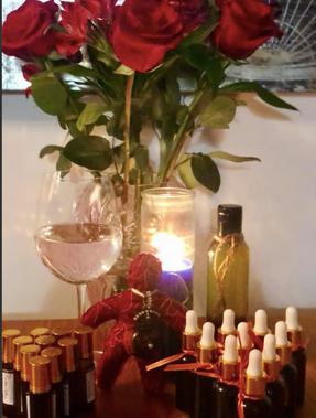 Love Oil and Sacred Sacal Chakra Oil