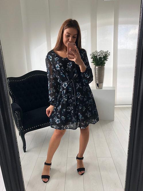 Sukienka Melissa Blue Flowers