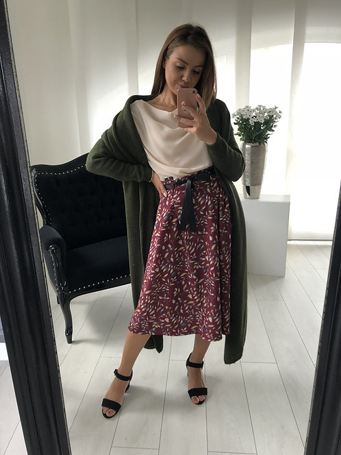 Spódnica Josie Bordo
