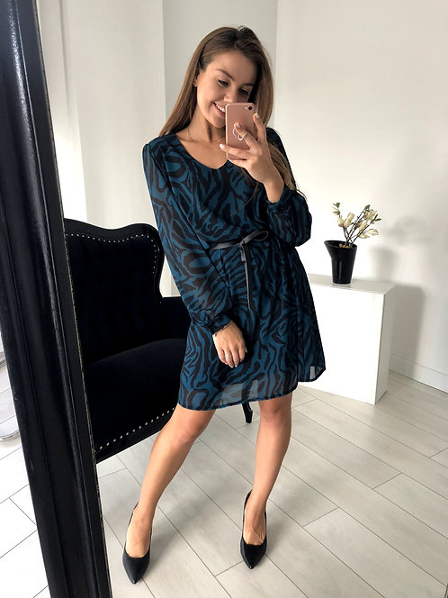 Sukienka Melissa Zebra Blue