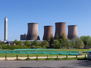 Rugeley cooling towers picture for new boiler installation page