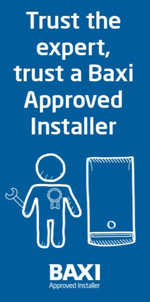 DPJ Plumbing, Heating and Gas are Baxi Approved Installers based in Rugeley