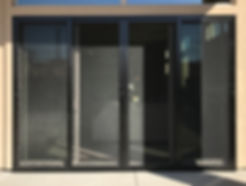 Protect vulnerable entry points like patio doors with a Sliding Security Door