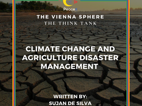 Climate Change and Agriculture Disaster Management