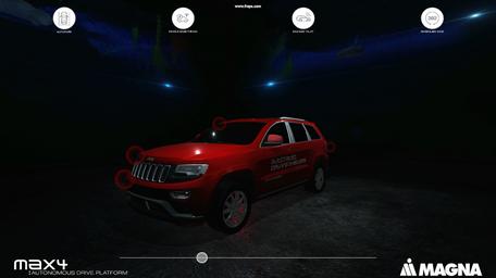 "Magna ""Autonomy"" interactive"