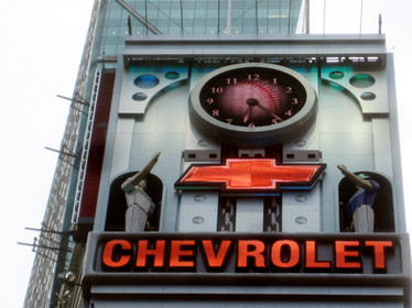 """Chevrolet """"Times Square"""" Experience"""