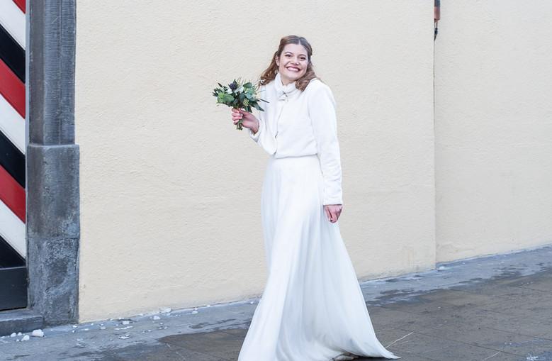 Brautkleid massgeschneidert