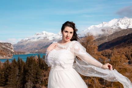 Brautschleier-Umgang ELIN