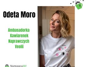 Odeta Moro Ambasadorką Kawiarenek Naprawczych Veolii