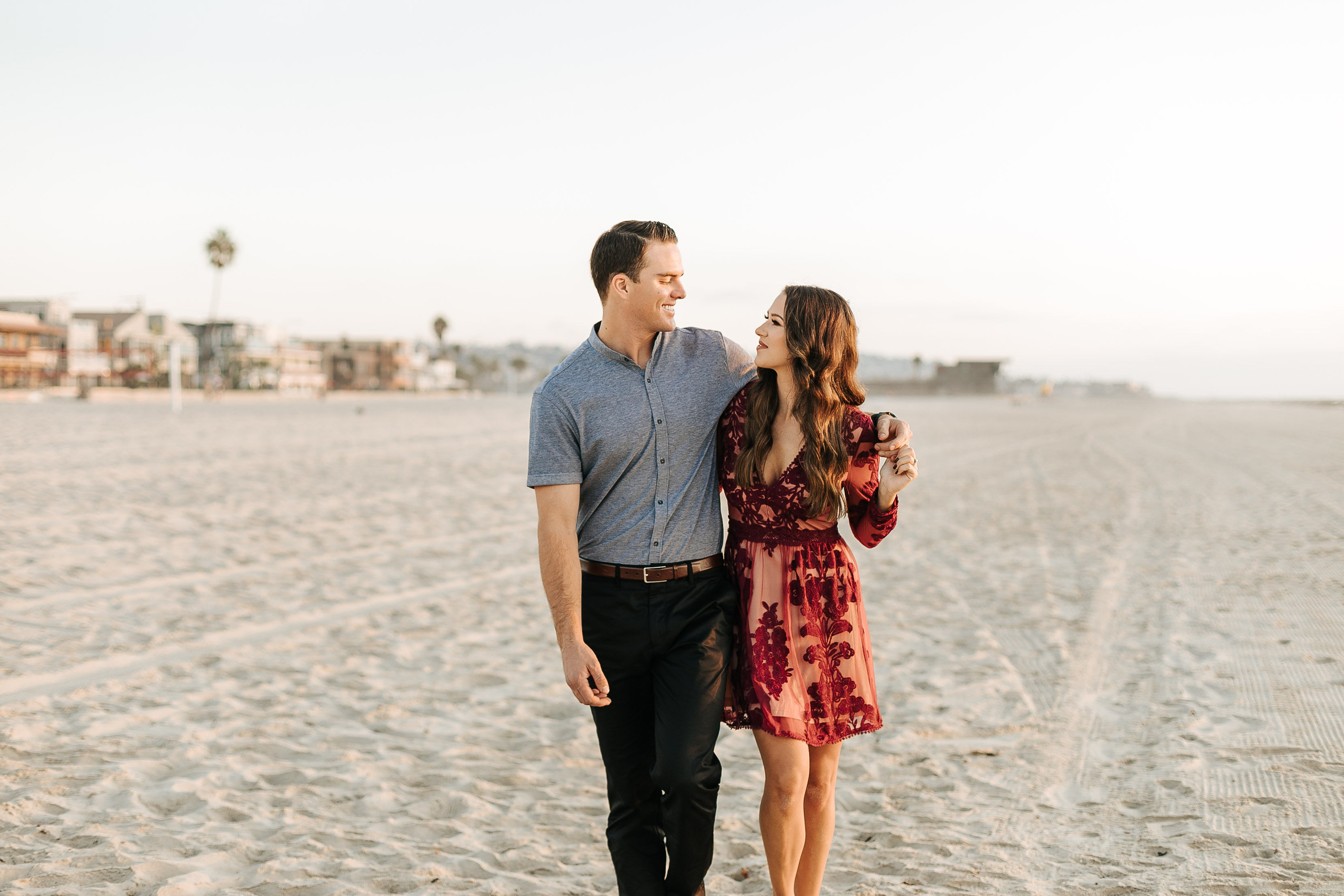 Pacific Beach Engagement Photos