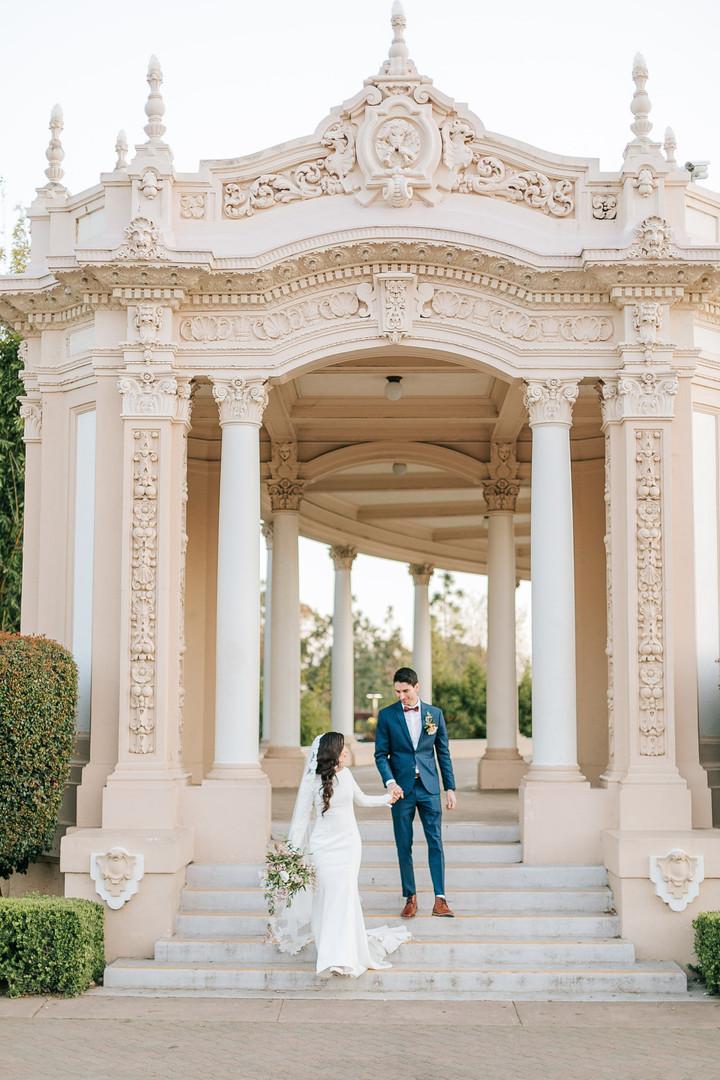 Balboa Park wedding photos