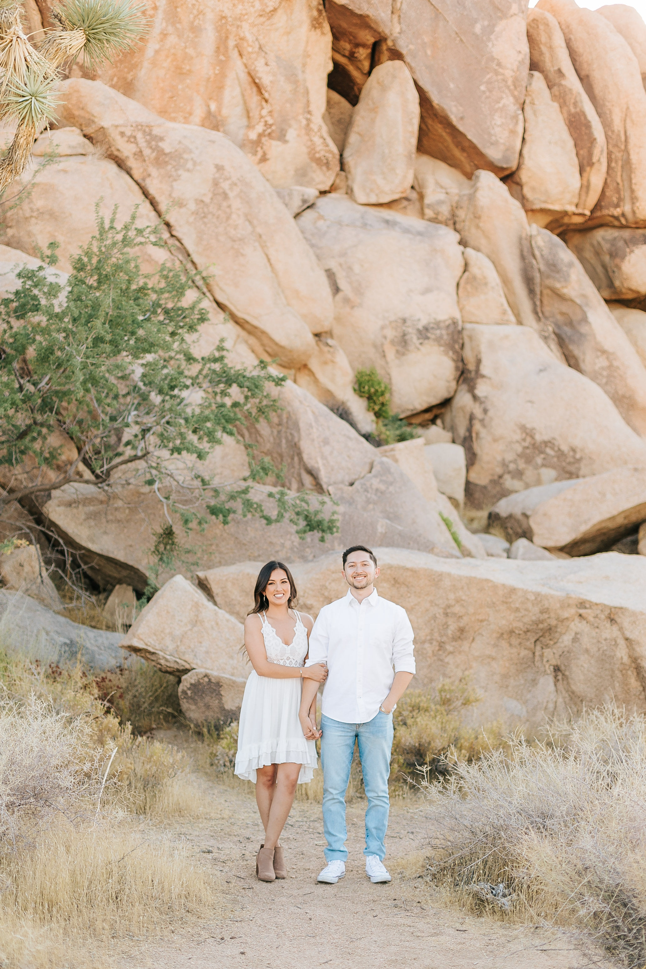Joshua Tree Engagement Photos