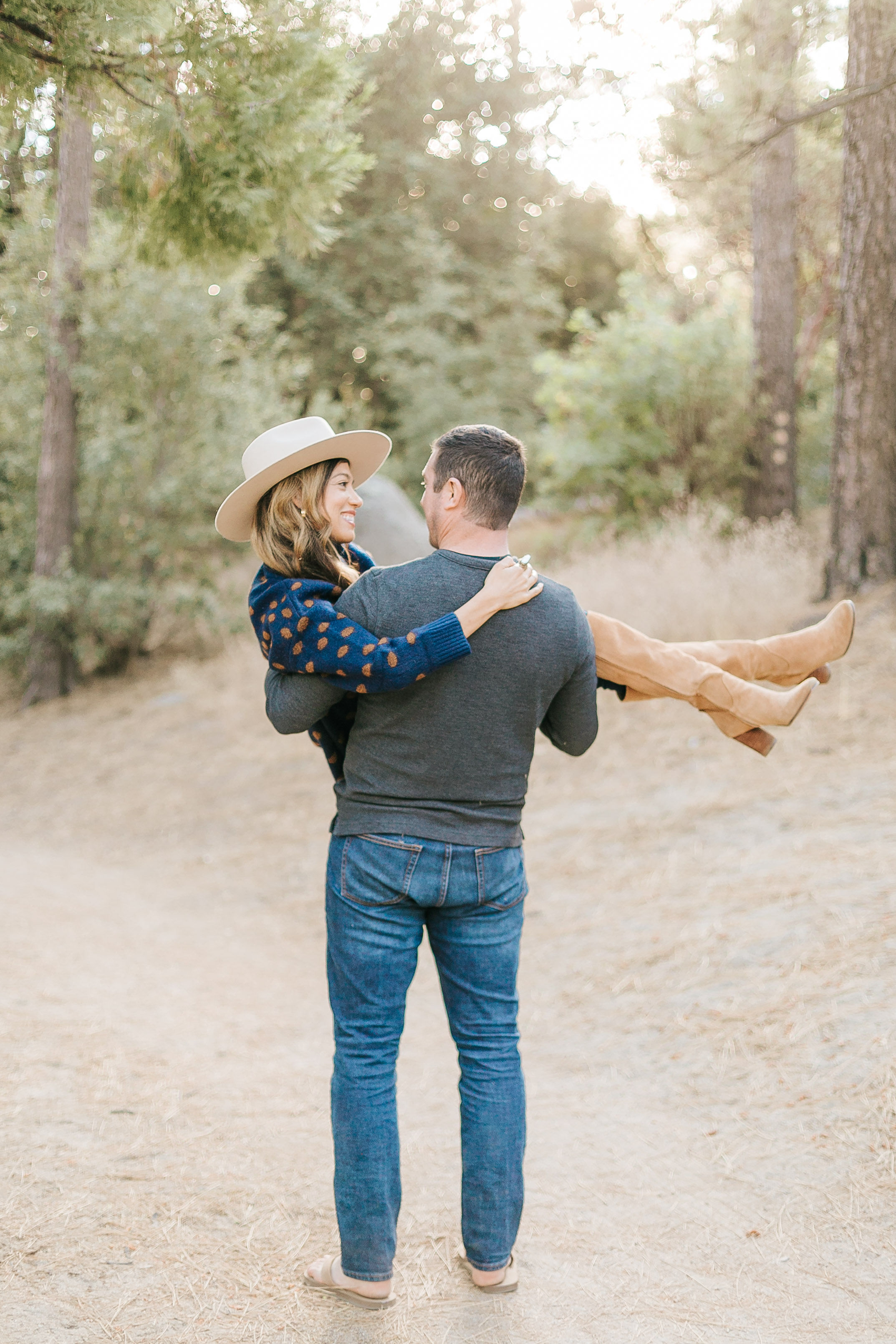 Idyllwild Engagement Session