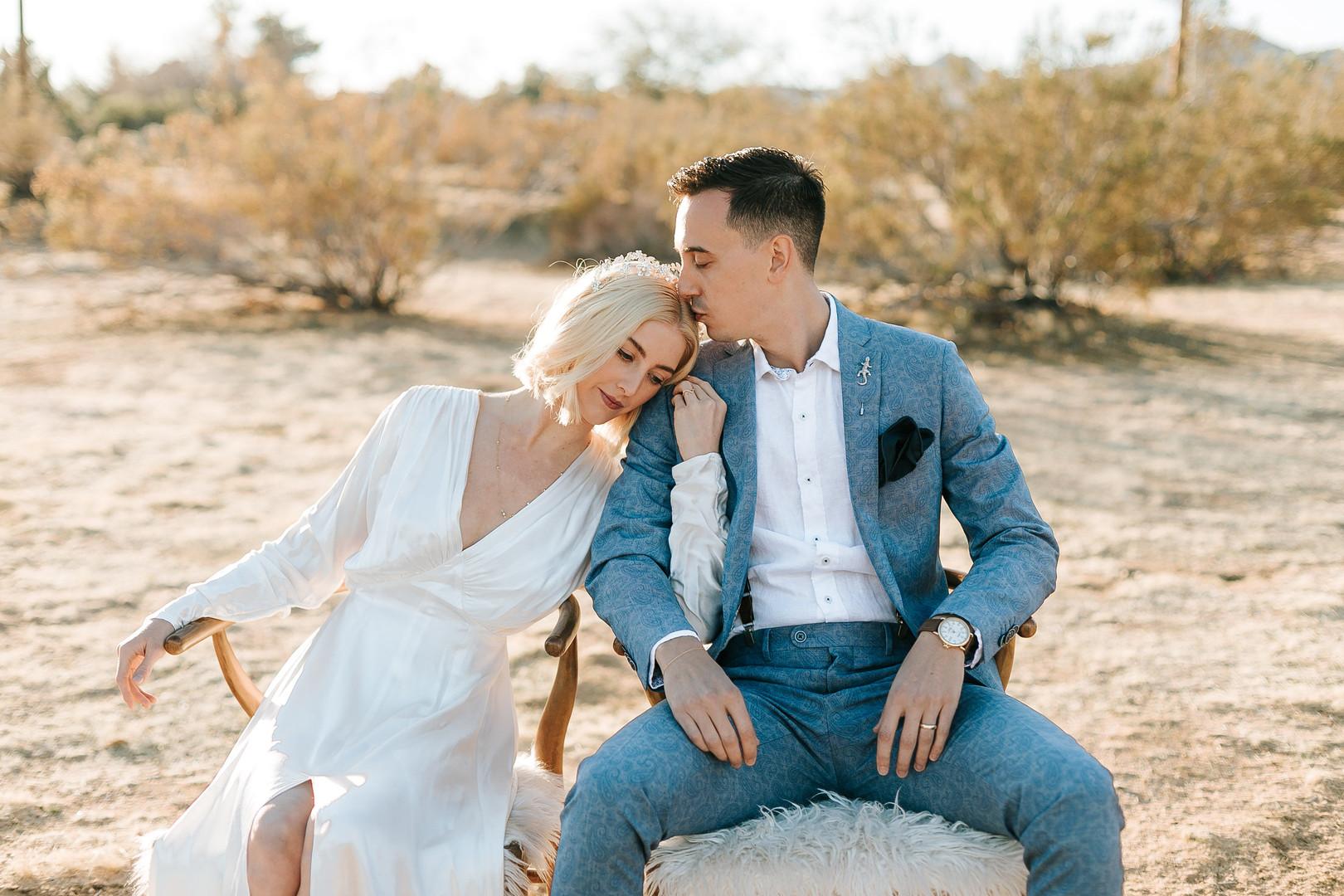 Joshua Tree wedding photos