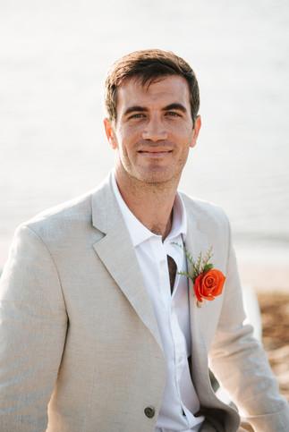 Mission Beach yacht club wedding