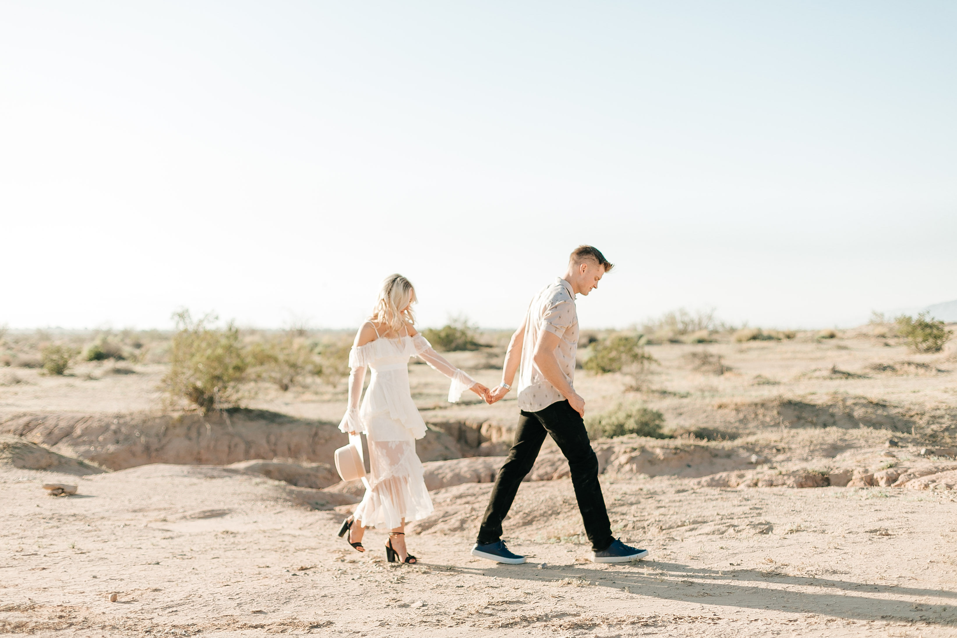 Salvation Mountain Engagement Photos