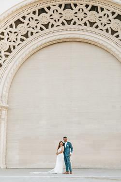 Balboa Park Wedding Photography