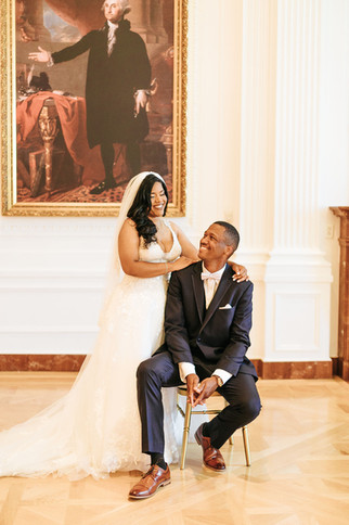 Nixon Library Wedding Photos