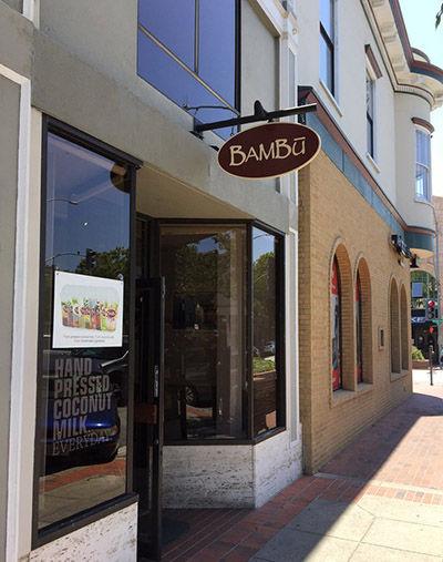Store front for Bambu San Mateo