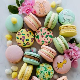 Hand Painted Macarons
