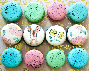 Easter Macaron Box