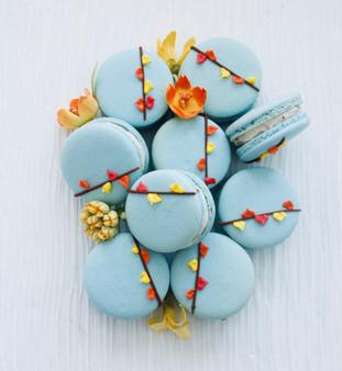 Maple Pecan Macarons