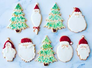 Royal Icing Vanilla Bean Sugar Cookie Cutouts